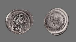 Denarius (Coin) Depicting the God Quirinus