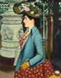 An Elegant Woman at the Élysée Montmartre (Élégante à l'Élysée Montmartre)