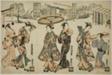 Girls of Fukagawa - A Triptych (Fukagawa musume sanpukutsui)
