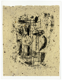 Transfer Monotype (Tools and Machines), plate 96 from 101 Prints