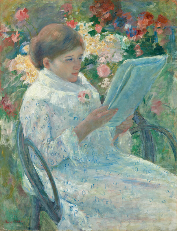 Location Of Painting Little Girl In A Blue Armchair