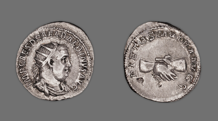 Ancient Roman Imperial Coin Gordianus Iii Silver Antoninianus Rome Mint To Be Distributed All Over The World