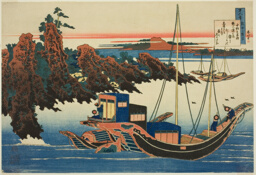 "Poem by Chunagon Yakamochi, from the series ""One Hundred Poems Explained by the Nurse (Hyakunin isshu uba ga etoki)"""