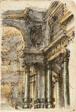 Architectural Fantasy (recto); Architectural Details (verso)