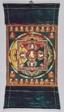 Painted Banner (Thangka) of Vajrasattva Mandala