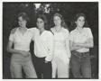 Heather Brown McCann, Mimi Brown, Bebe Brown Nixon, Laurie Brown, New Canaan, Conn.