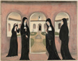 Nuns in Convent Yard