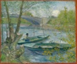 Fishing in Spring, the Pont de Clichy (Asnières)