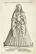 Vidua Senensis in Hetruria (Widow of Siena in Tuscany) from H. Weigel's Trachtenbuch, plate 51 from Woodcuts from Books of the XVI Century