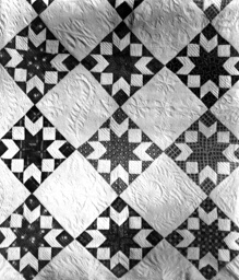 Bedcover (Star Variation Quilt)