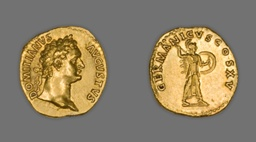 Aureus (Coin) Portraying Emperor Domitian
