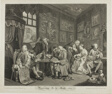 Plate One, from Marriage à la Mode