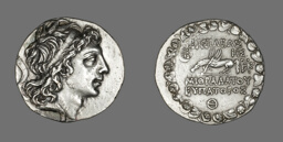 Tetradrachm (Coin) Portraying Mithradates VI of Pontus and Bithynia