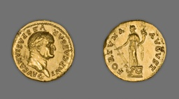 Aureus (Coin) Portraying Emperor Vespasian