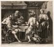 Jupiter and Mercury with Baucis and Philemon