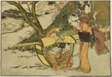 """Outing to View Maples in Autumn, from the illustrated book """"Picture Book: Flowers of the Four Seasons (Ehon shiki no hana),"""" vol. 2"""