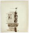 Upper Portion of Decorative Mantlepiece