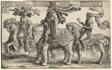 Hector of Troy, Alexander of Macedon, Julius Caesar, from The Nine Heroes