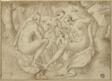 Cecrops' Daughters Uncover Erichthonius (recto); A Battle Scene (verso)
