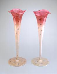 Pair of Agata Vases