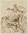 Cybele on Chariot Drawn by Lions