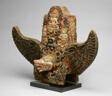 God Vishnu Riding His Mount, Garuda