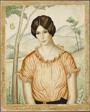 Portrait of a Woman in an Orange Blouse