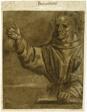 Saint Bernardino of Siena Preaching from an Open Book