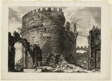 Tomb of Caecilia Metella, from Views of Rome