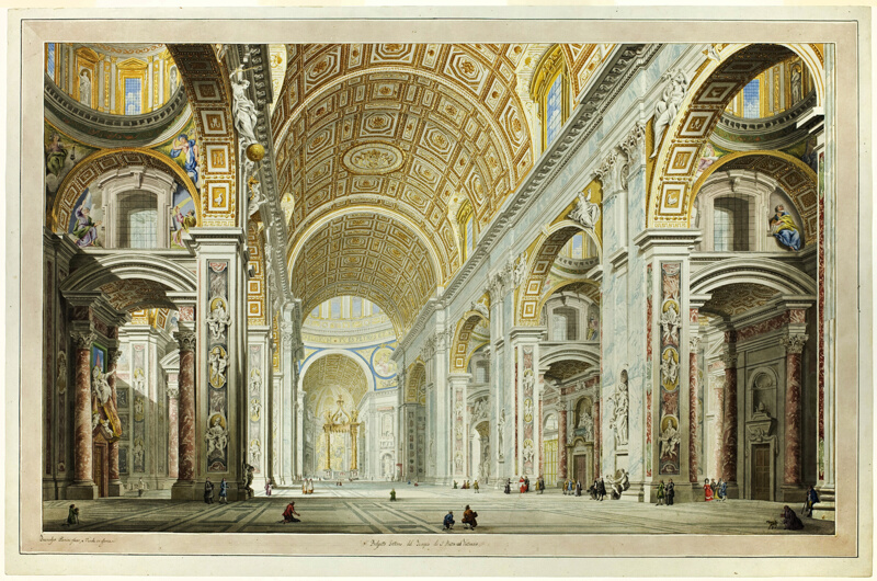 interior view photography.  interior interior view of the church st peteru0027s in vatican with photography g