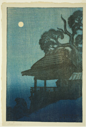 "Ishiyama Temple (Ishiyamadera), from the series ""Eight Views of Omi (Omi hakkei)"""