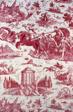 Le Char de l'Aurore (The Chariot of Dawn) (Furnishing Fabric)