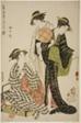 """Flowers of Yamashita (Yamashita hana), from the series """"Contest of Contemporary Beauties (Tosei bijin iro kurabe)"""""""