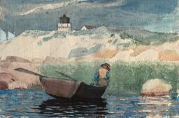 Boy in Boat, Gloucester