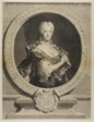 Portrait of Christine-Caroline, the Margrave of Brandenbourg-Onoltzbach, wife of Guillaume-Frédéric of Wurtemburg, 1694-1723