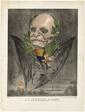 Wilhelm I, King of Prussia, from Les Génies de la Mort