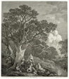 Wooded Landscape with Gypsies Gathered Round a Fire