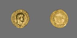 Aureus (Coin) Portraying Emperor Vitellius