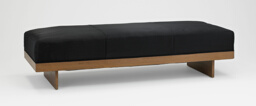 Bench (formerly a sofa)
