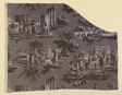 Les Monuments du Midi (Monuments of the South of France) (Furnishing Fabric)