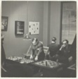 A Blindfold Chess Match Between Grandmaster George Koltanowski, Fredrick Kiesler, and Alfred Barr