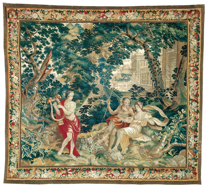 Orpheus Playing the Lyre to Hades and Persephone, from ...