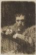 A Painter-Etcher (Self-Portrait)