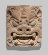 Architectural Brick with Ogre Mask