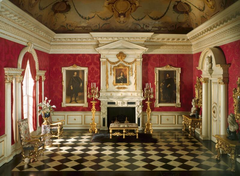 E 3 English Reception Room Of The Jacobean Period 1625