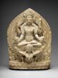 God Vishnu Riding on His Mount, Garuda