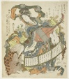 Benzaiten with monkey and rat