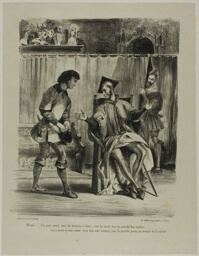 Mephistopheles Receiving the Student, from Faust
