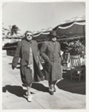 Miami Beach, Fla. Strollers in Heavy Coats During Cold Weather