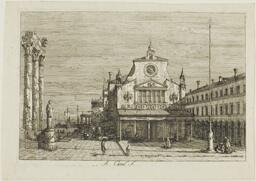 Imaginary View of S. Giacomo di Rialto, from Vedute